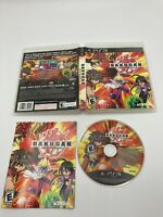 Sony PlayStation 3 PS3 Tested CIB Complete Bakugan Battle Brawlers Ships Fast
