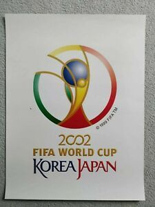 2002 football world Cup Korea Japan official poster
