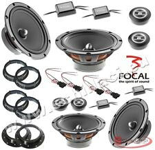 FOCAL 8 speakers kit for VOLKSWAGEN / SKODA / SEAT / AUDI spacer rings adapters