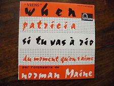 Norman Maine et son orchestre - disque Fontana 460.594