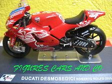 MOTO GP 1/24 SERIE 2  DUCATI DESMOSEDICI ROBERTO ROLFO 2005  MOTORCYCLE MOTORRAD