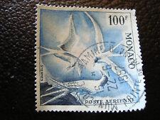 MONACO timbre yvert et tellier aerien n° 66 obl (dentele 13) (A4)stamp monaco(G)