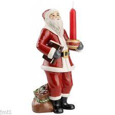 Villeroy & Boch NOSTALGIC LIGHT Santa Candle Holder #3969