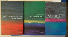 Art History Book Lot: Contemporary, Modern, and Postmodernism Art Paperback