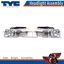 TYC Headlight Lamps Assembly Left &Right 2PCS For Chevrolet Silverado 1500 99-02