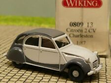 1/87 Wiking Citroen 2CV Charleston grau/hellgrau 0809 13