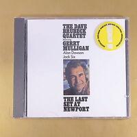 THE DAVE BRUBECK QUARTET - THE LAST SET AT NEWPORT - OTTIMO CD [AQ-192]