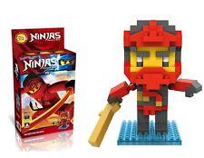 LOZ Ninja Master Kai Diamond black Mini blocks 220 pcs