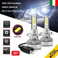 110W H7 26000LM Auto LED Faro Lampada Lampadina DRL Luci Kit Xenon Bianco 6000K