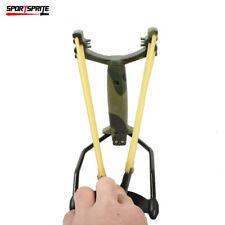 Sniper-Power Archery Slingshot Bow Arrow Brace Hunting Catapult-Ccamouflage