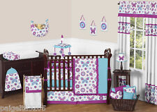 Sweet JOJO Designs 9-Piece Set Crib Bedding Collection - Spring Garden