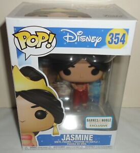 Funko Pop Disney Princess Jasmine figure 354 Barnes Noble Exclusive