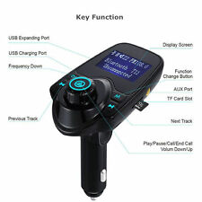 Bluetooth 4.0 Wireless FM Transmitter for iPhone7 6S Samsung Galaxy S8+S7 LG V20