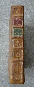 1781 BEZOUT Traité de Navigation Suite du cours de mathématiques