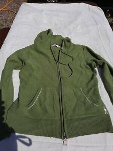 Smartwool Merino Hooded Cardigan Size 10