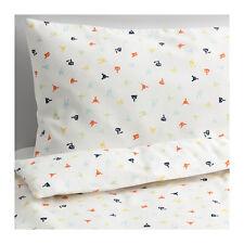 IKEA Stjarnbild 120 Thread Count Quilt Cover Pillowcase Set for Cot Baby Infant