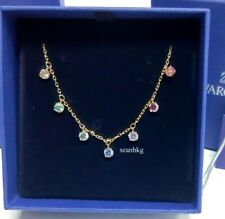 Swarovski Attract Necklace Choker, GOS Multi Colored Crystal Adjustable 5384392