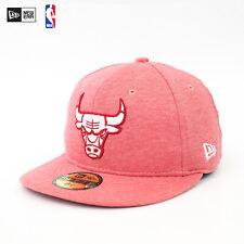 New era 59 fifty cap nba chicago bulls jersey rojo Special Edition top gorra sale