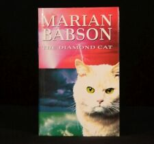 1994 Marian Babson The Diamond Cat First Edition In Unclipped Dustwrapper