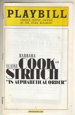 Barbara Cook & Elaine Stritch   Playbill   BENEFIT  Lincoln Center  2006  PHOTOS