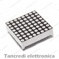 Matrice Led 8x8 Matrix Module Display 32mm 64 led 3mm (arduino-compatibile)
