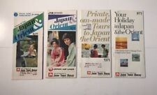Japan Travel Bureau 1971 Lot Of Brochures Pan Am Holiday 505 Japan Air Lines JTB