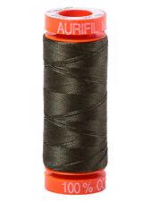 Aurifil Mako fino hilo de bordar 50 Wt Hilo de algodón 220 Yard Carretes-página 3