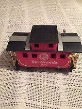 Scientific Toys Caboose G Scale Rio-Grande 4067 Train Car Red