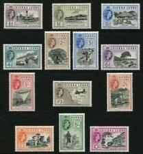 Sierra Leone Stamps QEII 1956-61, SG210/222 VLMM Set 13