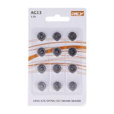 Pack de 12 Pilas Tipo Botón Litio en Blister gran Calidad Modelo AG13 1.5V b17