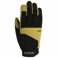 Carhartt A610BLKBLY Medium TRIPLE GRIP GLOVES Black/Barley - NEW