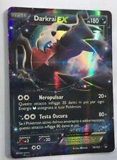 POKEMON card  # Darkrai EX # MEGA GX Rara Secret Holo  Carta ITA 74/122