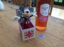 """v v rare disney tradition 'mickey mouse-in a box' 6"""" unboxed"""