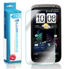 2x iLLumi AquaShield Crystal HD Clear Screen Protector for HTC Sensation 4G