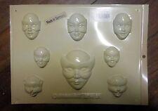 MASKED FACE MOULDS - plastic