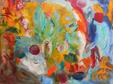 Original Oil Painting on canvas - TROPICAL LIFE