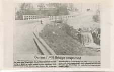 Hagerstown MD * 1970's RPPC  Gossard Mill Bridge   Washington Co.