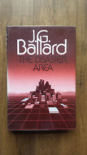 J G Ballard – Disaster Area (UK Cape 1984 hb dw) Crash High Rise Concrete Island