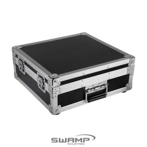 SWAMPUniversal Wooden Mixer Road Case for Small Mixing Desk