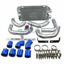 Front Mount Intercooler + BOV KIT For Nissan S13 S14 240SX RB20 RB25 RB25DET