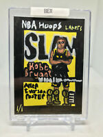 KOBE BRYANT 2020-21 NBA Hoops HOLIDAY SLAM Insert Gold Foil #19 Lakers 1/1 ACEO