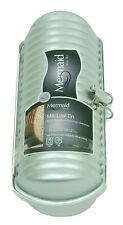 Mermaid Silver Milk Loaf Tin Ridged Cylinder Hard Anodised Aluminium Cake Mould