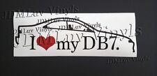 I love my DB7 JDM 94-01 Sticker decal Honda integra b18c