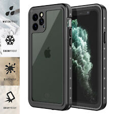 For Apple iPhone 11 / 11 Pro Max Case Waterproof FRE w/ Screen Protector Series