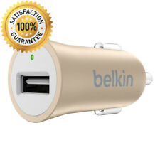 Belkin Premium MIXIT↑ Fast 2.4A USB Car Charger for Apple iPhone 5/ 5s/ 6/ 7...