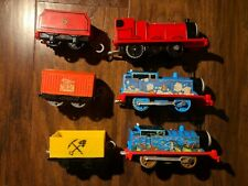 Trackmaster Thomas and Friends Train Lot of 8 Engines and 8 Train Cars
