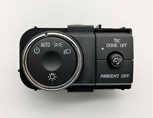 OEM 08-17 Buick Enclave Headlight Head Light Lamp Fog Dimmer Control Switch