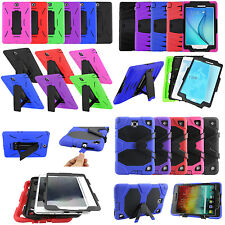 Hybrid Rugged Armor Case Cover Full Body for Samsung Galaxy Tab A 7 8 9 10.1