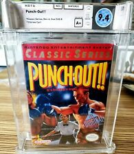 Mike Tyson's Punch-out! Classics Release NES New Sealed Mint Gold WATA 9.4 A+