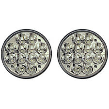 "5-3/4"" LED HID  Light Bulb Crystal Clear Sealed Beam Headlamp Headlight Pair"